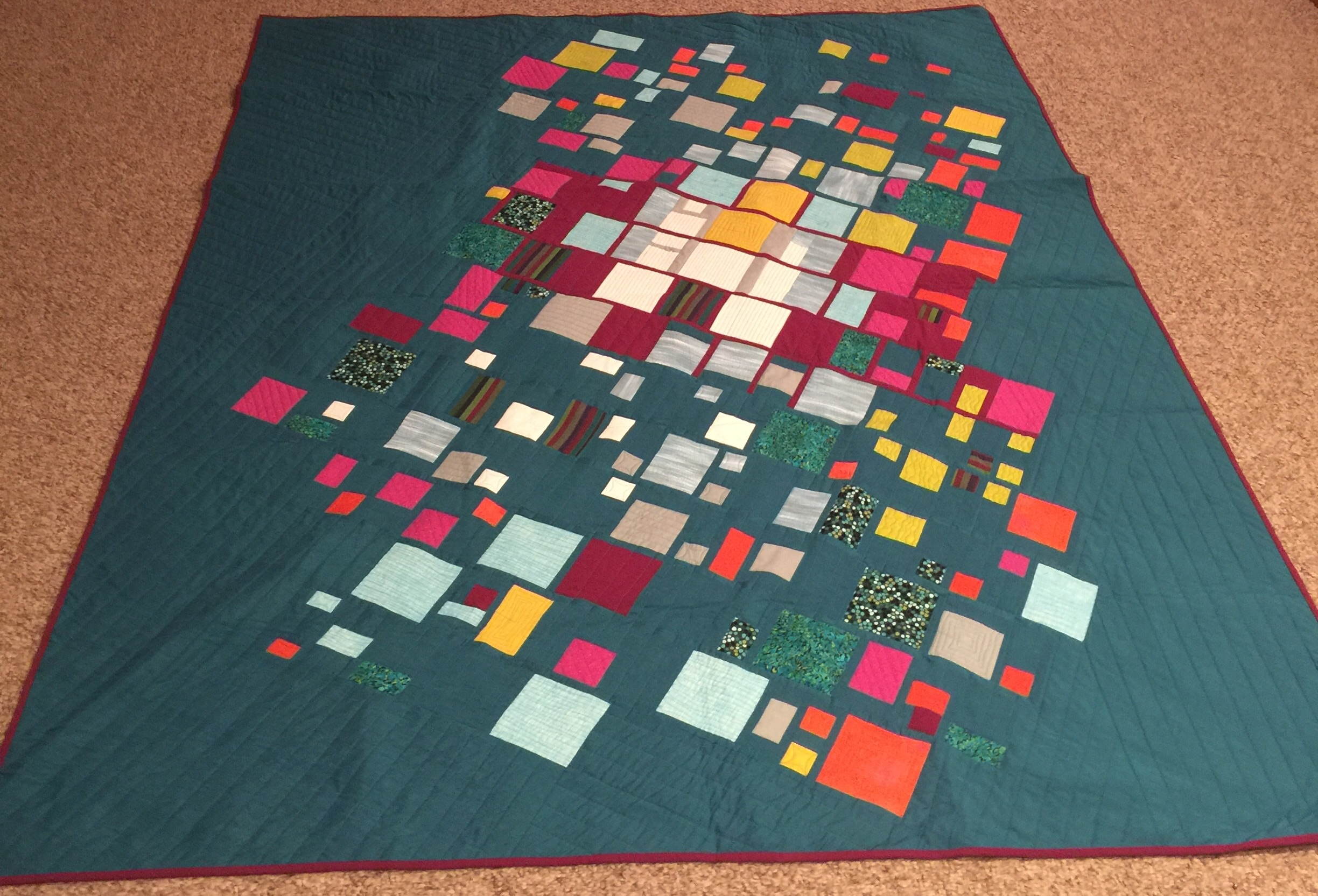 March meeting tucson modern quilt guild for Modern house quilts